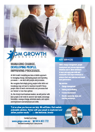 GMGC in one page - download brochure